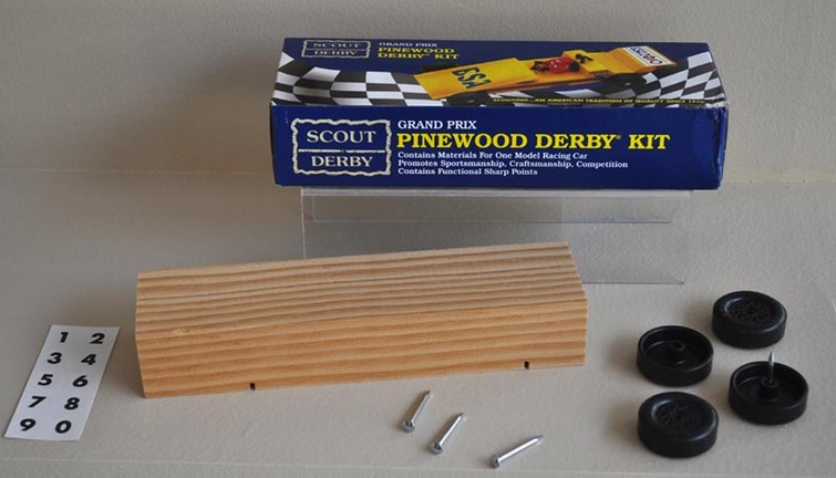 Pinewood Car Kit